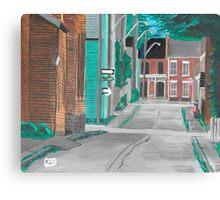 Little Side Street  Canvas Print