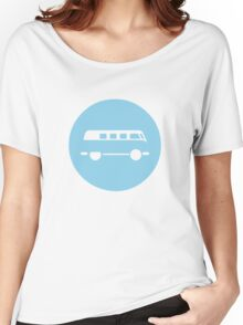 Minimal VW Van Women's Relaxed Fit T-Shirt