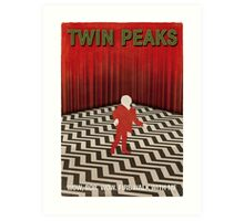 Twin Peaks Red Room Art Print
