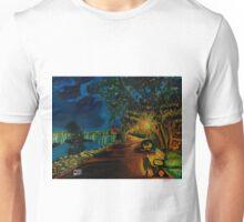 Hamilton bayfront at night Unisex T-Shirt