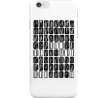 Block Pattern iPhone Case/Skin