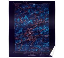 New York NY Raquette Lake 136417 1903 62500 Inverted Poster