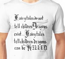 What Fairy Tales Do (GK Chesterton)  Unisex T-Shirt