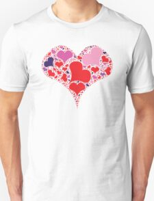 Heart made from heart T-Shirt