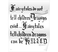 What Fairy Tales Do (GK Chesterton)  Poster