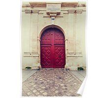 Parisian Door Poster