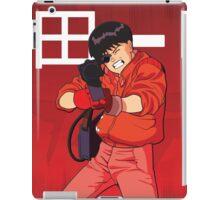 Kaneda from Akira and his motorbike iPad Case/Skin