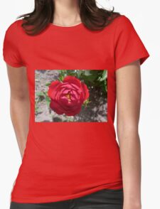 Red Rose Bud . T-Shirt