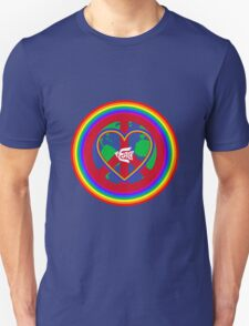 Peace on earth (rainbow) T-Shirt