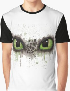 Toothless' eyes in watercolour Graphic T-Shirt