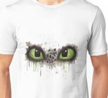 Toothless' eyes in watercolour Unisex T-Shirt