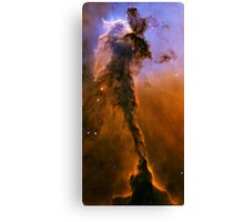 The Black Pillar in the Eagle Nebula Messier 16 M16 NGC 6611 Canvas Print