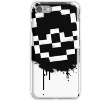 Pokeball Spray paint iPhone Case/Skin