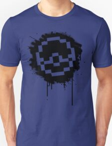 Pokeball Spray paint Unisex T-Shirt