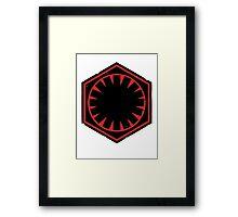 Star Wars Empire Symbol Worn Framed Print
