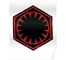 Star Wars Empire Symbol Worn Poster
