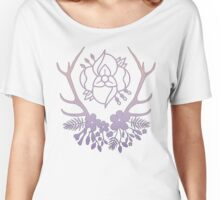 La Dispute Antlers - Pink Women's Relaxed Fit T-Shirt