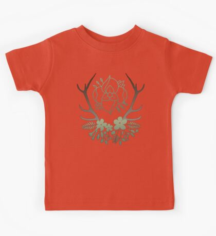 La Dispute Antlers - Earthtones Kids Tee