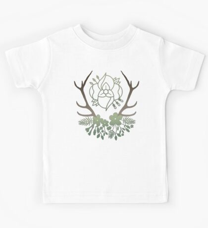 La Dispute Antlers - Earthtones Kids Tee