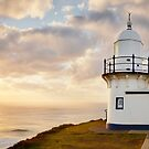 Tacking Point Lighthouse, Port Macquarie, New South Wales, Australia by Michael Boniwell
