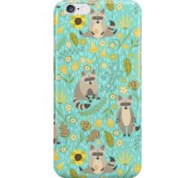 Cute raccoons iPhone Case/Skin