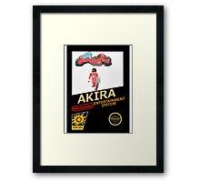 Akira Nintendo NES Framed Print