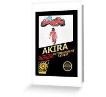 Akira Nintendo NES Greeting Card