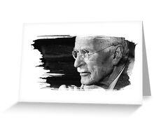 Carl Gustav Jung Greeting Card