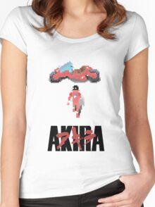 Akira 8-bit Women's Fitted Scoop T-Shirt