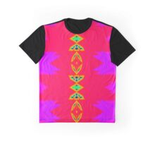 Psy Rainbow Pink Triangle NeoGeo Art Graphic T-Shirt