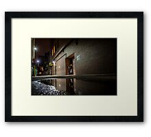 Reflections of things lost and things found Framed Print