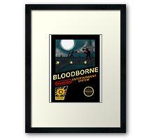 Bloodborne NES nintendo Framed Print