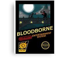Bloodborne NES nintendo Canvas Print