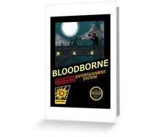 Bloodborne NES nintendo Greeting Card
