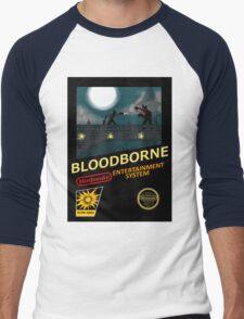 Bloodborne NES nintendo Men's Baseball ¾ T-Shirt