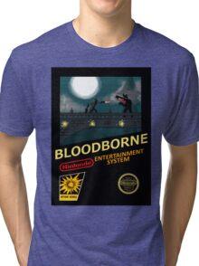 Bloodborne NES nintendo Tri-blend T-Shirt