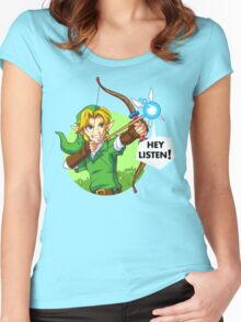 Zelda Fairy Bow  Women's Fitted Scoop T-Shirt