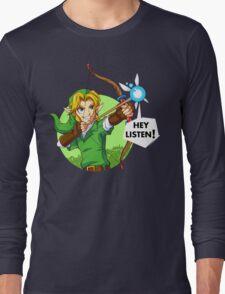 Zelda Fairy Bow  Long Sleeve T-Shirt