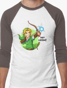 Zelda Fairy Bow  Men's Baseball ¾ T-Shirt