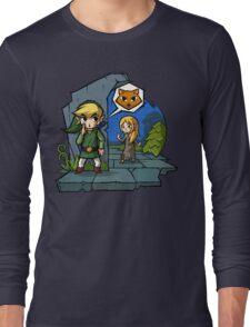 Zelda Wind Waker Meow Long Sleeve T-Shirt