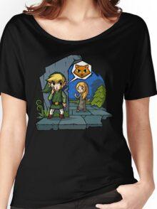 Zelda Wind Waker Meow Women's Relaxed Fit T-Shirt