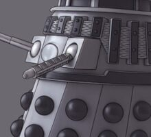 Friendly Dalek Sticker