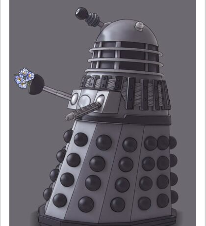 Friendly Dalek Sticker