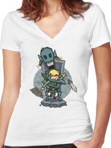 Zelda Wind Waker ReDead  Women's Fitted V-Neck T-Shirt
