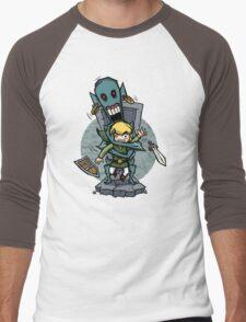 Zelda Wind Waker ReDead  Men's Baseball ¾ T-Shirt