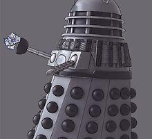 Friendly Dalek by Ben Saunt