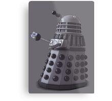 Friendly Dalek Metal Print