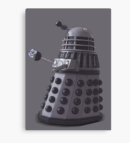 Friendly Dalek Canvas Print