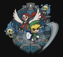 Zelda Wind Waker Earth Temple One Piece - Long Sleeve