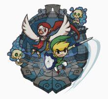 Zelda Wind Waker Earth Temple One Piece - Long Sleeve